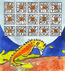 Zeepaardje puzzel
