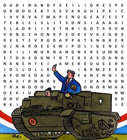 Bevrijding vrijheid 5 mei puzzel