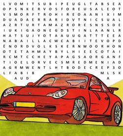 Automerken puzzel