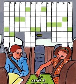 Landenstickers puzzel