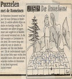Woordzoeker de Romeinen puzzel