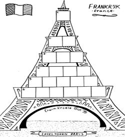 Eiffeltoren puzzel