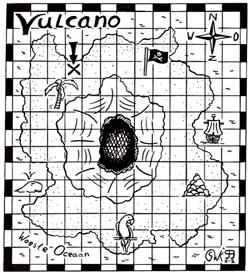 Vulcano puzzel