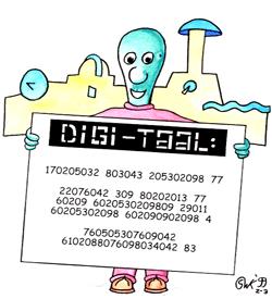 Digi-taal code puzzel