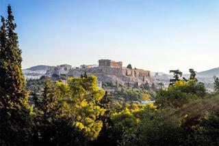 Groeten uit Athene