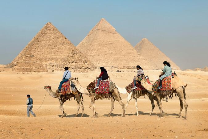 Groeten uit Egypte
