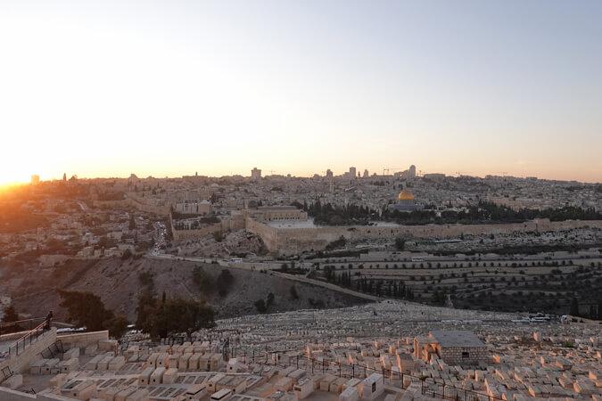 Groeten uit Jeruzalem